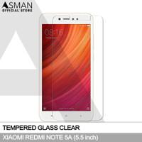 Tempered Glass Xiaomi Redmi Note 5A (5.5) | Anti Gores Kaca - Bening
