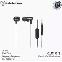 Audio Technica ATH-CLR100iS SonicFuel In-Ear Headphones In-Line Mic &