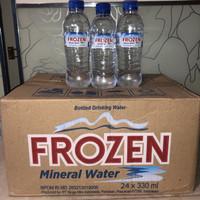 Air mineral FROZEN 330ml isi 24 botol per dus Bukan Aqua (OJOL SAJA)