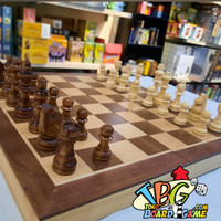 Premium Magnetic Chess Board Game - Papan Catur Magnet - 38x38 cm