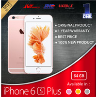 IPHONE 6S PLUS 64 64GB GARANSI 1 TAHUN TERMURAH GOLD GREY SILVER FU