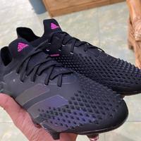 Sepatu Bola Adidas Predator Mutator 20.1 Low FG - Core Black Pink