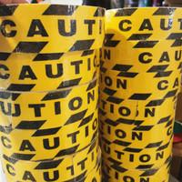 Anti Slip Tangga - Safety Walk Tape CAUTION - Lakban Anti Licin 5CM