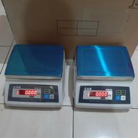 TIMBANGAN IKAN WATER PROOF CAS SW-1WR 10kg / TIMBANGAN TAHAN AIR 10kg
