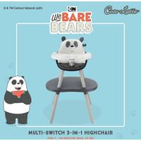 Kursi Makan Cocolatte Multi Switch 3in1 We Bare Bears High Chair WBB