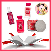 Gift Box Natal Winter Candy Apple