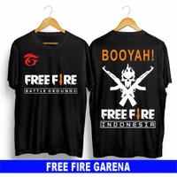FASHION PRIA FASHION ANAK BAJU/KAOS FREE FIRE FF BOOYAH!!!