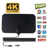 Antena TV Digital Indoor Penangkap Sinyal Channel DVB-T2 4K High Gain