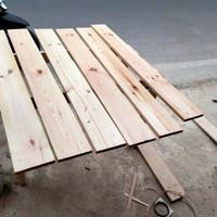 papan kayu jati Belanda sudah d serut