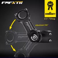 Adjusment Stem HandleBar FMF XTR Alluminium Alloy stang sepeda MTB