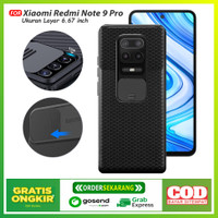 Case CamShield Slide Penutup Camera belakang Xiaomi Redmi Note 9 Pro