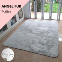 Angel Fur by ALICE Karpet Bulu Busa 150x190 Misty Grey