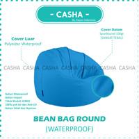 BEAN BAG COVER - ROUND CHAIR - BeanBag Dewasa - MEDIUM - Kayoo.Id -