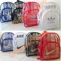 Tas Ransel Adidas Nike Transparan (Olahraga Gym Fitness Renang dll)