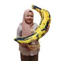 Banana Pillow Bantal/Guling Pisang Unik uk JUMBO (80cm)