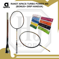 Raket Badminton Apacs Turbo Power 880 Original