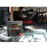 AMD RYZEN 3200G + MOTHERBOARD ASROCK A320M-HDV