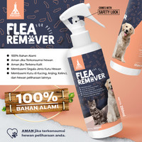 Obat Kutu Hewan Anjing & Kucing Bahan Alami RACOON / Flea Remover