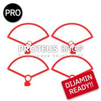 READY STOK DJI Mavic Mini Propeller Guard Pelindung Baling Drone Combo - MINI 1 Merah