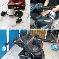 Spion Jalu Bulat bar End Pnp Motor Vario Mio Vespa Scoopy PCX Aerox MX