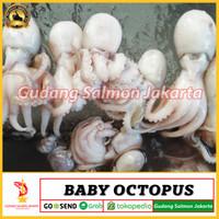 Promo Baby octopus 500gr/½kg Gurita utuh whole octopus