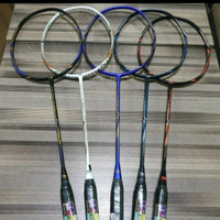 Raket badminton Lining Super series 2020 (Bonus Tali+Tas+Grip)