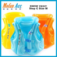 Rompi Renang Pelampung Anak Swim Vest Ban Jaket Step C Size M