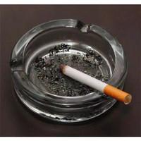 Asbak / Asbak Beling / Asbak Kaca / Asbak Bening / Ashtray Glass