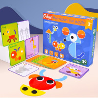 17 montessori puzzle kembang otak anak sensory toys mainan motorik