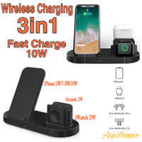 3 in 1 Wireless Charger H 10 Qi Fast Wireless Charging For Apple