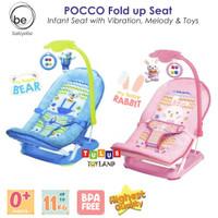 Kursi Bayi Babyelle POCCO Seat Baby Elle Fold Up Infant Seat Bouncer