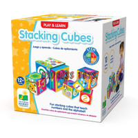 Play & Learn Stacking Cubes STEM Mainan Bayi The Learning Journey