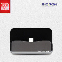 Sicron Charge and Sync Dock USB Type C - Silver