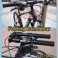 Folding Handlebar Alluminium Alloy Stang Sepeda MTB,Seli,Lipat