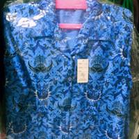 baju kemeja korpri batik sutra pria dan wanita KWALITAS TERBAIK