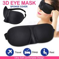 Penutup Mata Tidur 3D Travel - Kacamata Tidur 3D - Sleep Mask 3D Soft