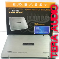 POWER AUDIO MOBIL EMBASSY EA-460 SILVER