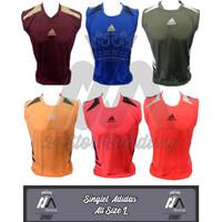 Jersey Singlet AD!DAS / Atasan Futsal / Sepak Bola - Grid