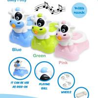 Kandila/Baby Safe train To Flush Potty/toilet Training seat with music