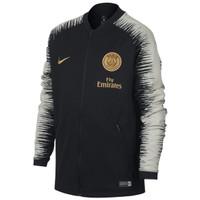 Jaket Jersey Nike PSG Paris St Germain Anthem ORIGINAL Black BOYS