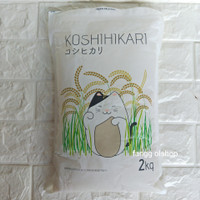 Koshihikari Beras Sushi Jepang/ Beras Jepang Repack 500gr