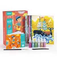 Mideer gliter boards art and craft mainan edukasi anak