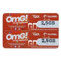 Voucher Telkomsel 2,5GB