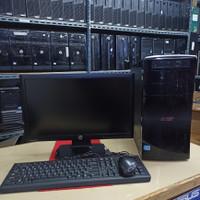 Paket murah Pc Acer aspire i3 2120 4gb 500gb dvd led 19inc key-mouse