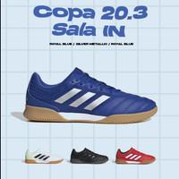 Sepatu Futsal Adidas Copa 20.3 IN - White Green / Black / Red Original