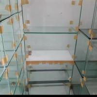 Soliter Kaca Soliter Aquarium Ukuran 30 x 15 x 20 cm