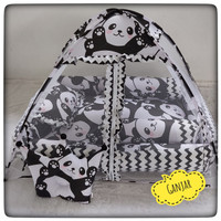 Baby nest set kelambu tidur kasur bayi kelambu bantal bayi