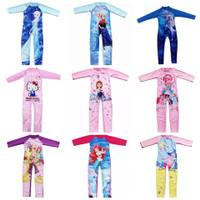 Baju renang anak perempuan muslim lengan panjang frozen mlp hk import