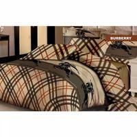Bedcover Fata Tanpa Sprei Ukuran 180x200/Uk 160x200 Motif Burberry
