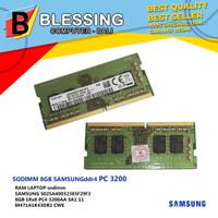 SODIMM 8GB SAMSUNG DDR4 PC 3200